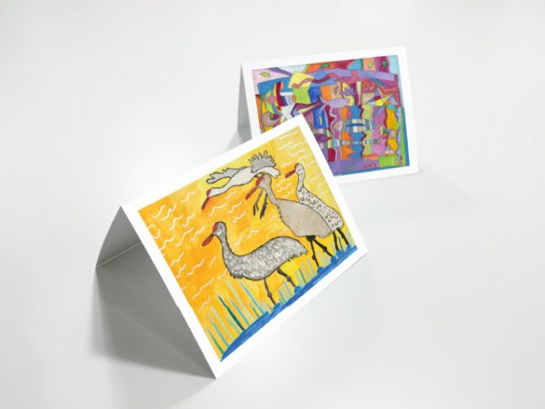 Two Notecards