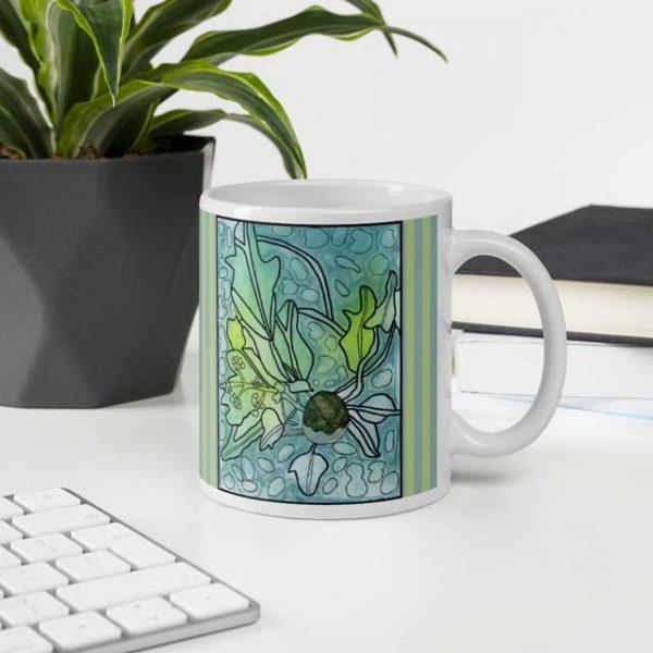 Kukui Plant Mug in Office